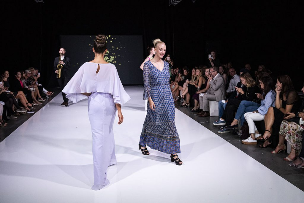 KRIS on the catwalk - Nordic Bridal Show 2019