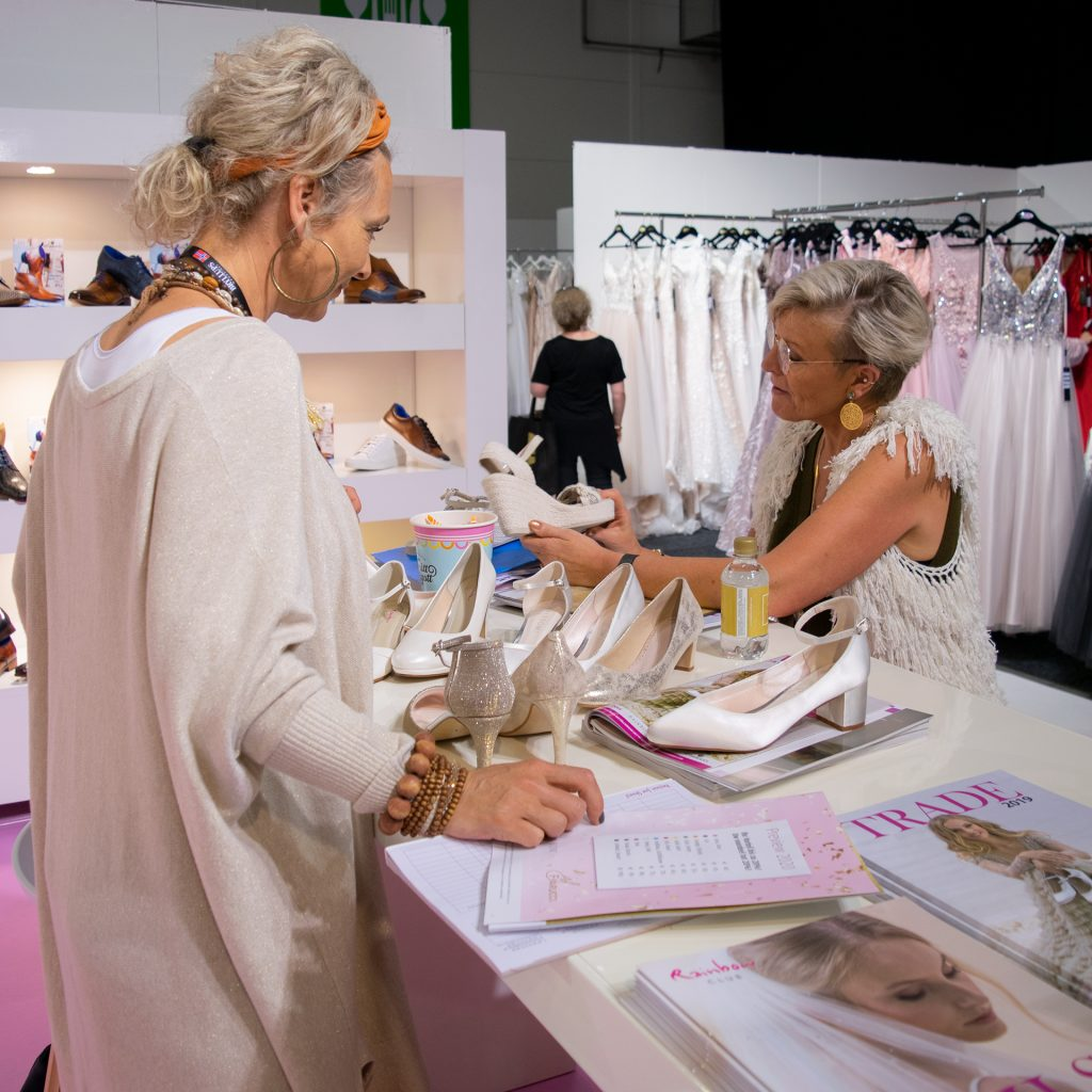 Elsa Coloured Shoes stand at Nordic Bridal Show