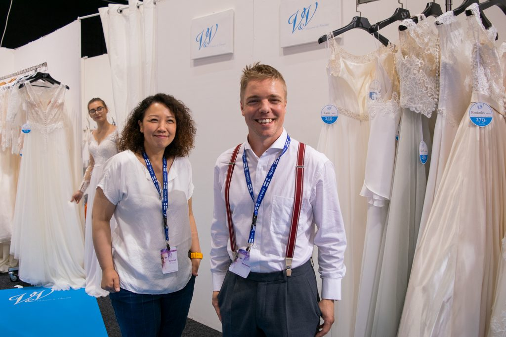 Victoria § Vincent at Nordic Bridal Show
